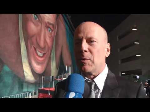 Fábio Borges entrevista Bruce Willis