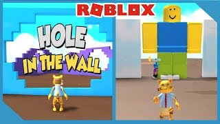 DON'T GET CRUSHED BY A WALL - ROBLOX HOLE IN THE WALL