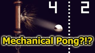 History of Electro Mechanical Pong! Weird Arcade/Console/Pinball Pong Video Game/EM Versions
