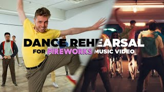 Purple Disco Machine - Fireworks (Dance Routine Rehearsal)