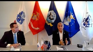 Miami-Dade Mayoral Candidate Bovo talks veteran's issues at the Miami Military Museum