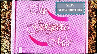 *New* The Gorgeous Mee | Lifestyle Subscription | First on Youtube | Unboxing & Review | *Giveaway*