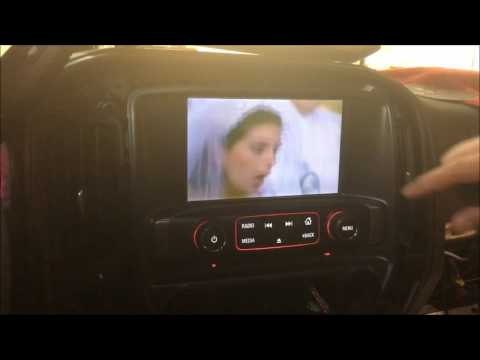 20142017 Silverado  Tahoe and Sierra Smartphone Mirroring and AV Input for 42 and 8 Screens