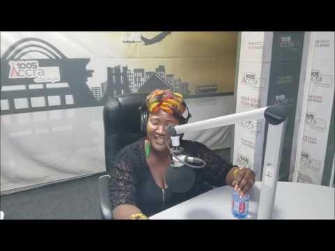 LILY M  ACCRA  FM  RADIO INTERVIEW