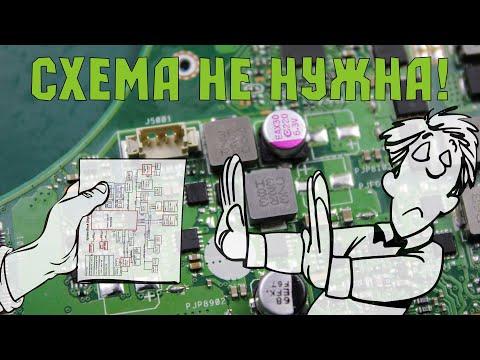 МАСТЕР-КЛАСС диагностики ноутбука без схемы