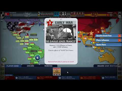Twilight Struggle (Steam): Online game #11 (US)
