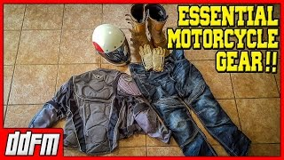 5 Motorcycle Protective Gear Items You Need to Wear - What to Wear When Riding a Motorcycle