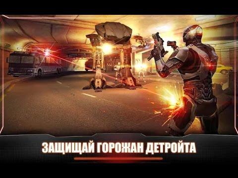 Robocop gameplay rewiev Android game Во что поиграть