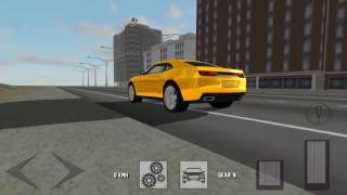 Legendary Car Driving - Driving Chevrolet Camaro - Android Game HD