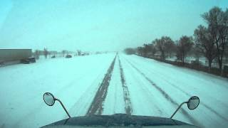 831 extreme winter driving condition