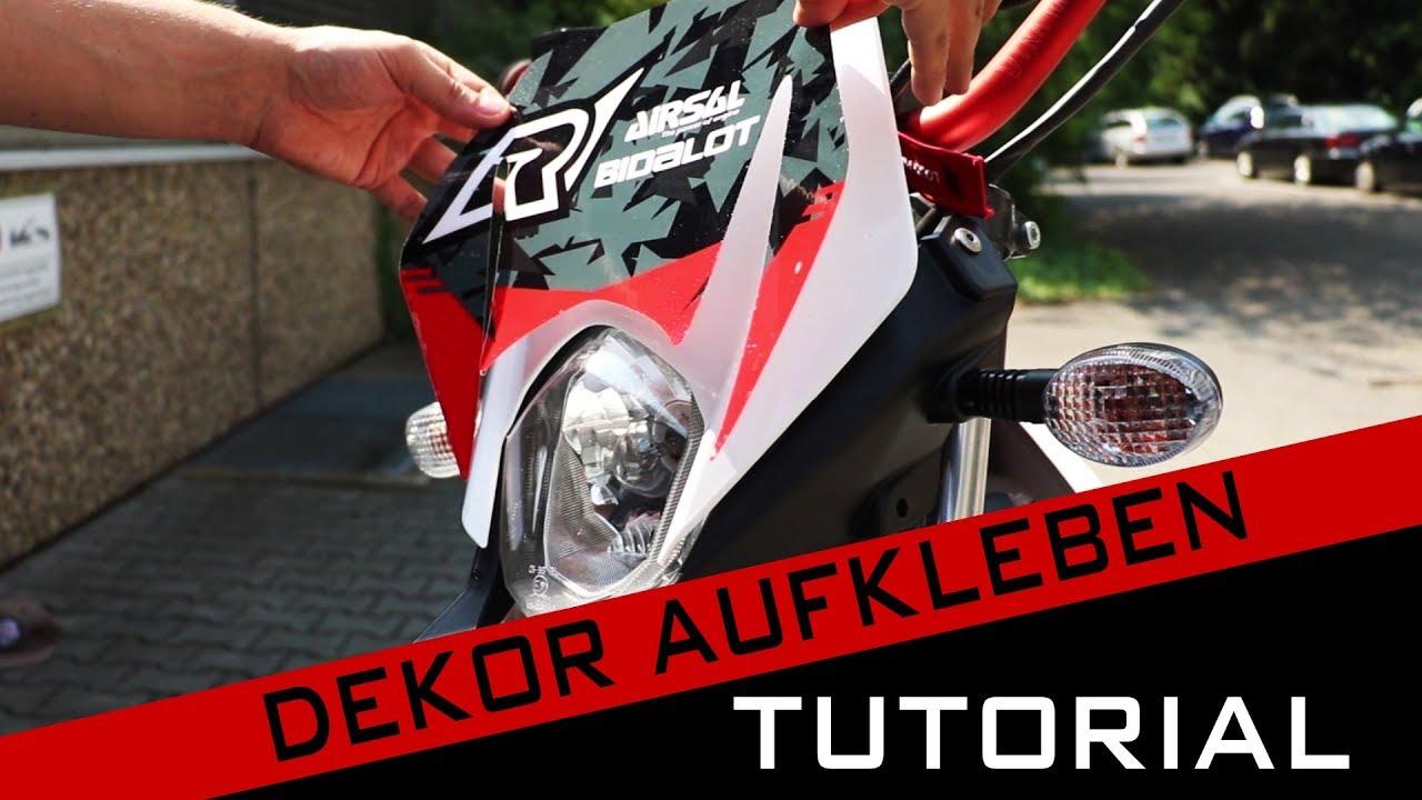 Radical Racing Dekor Aufkleben Tutorial By Gearparts24