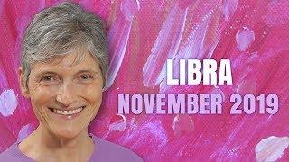 LIBRA November 2019 Astrology Horoscope Forecast - Fortunate Stars for you!