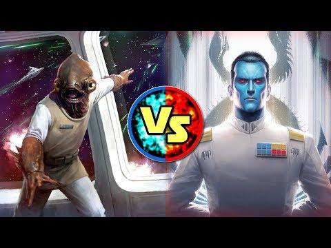 Star Wars Versus: Admiral Ackbar VS. Großadmiral Thrawn - Star Wars Basis Versus #6