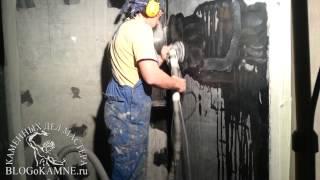 видео Полировка мрамора