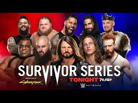 Download [FULL MATCH] Team Raw VS Team Smackdown - *Men's* Survivor Series 22/11/20