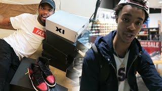 BUYING SOME HEAT WITH FLIGHTREACTS! HE A HYPEBEAST! 12 NEW PAIR OF HEAT JORDANS!