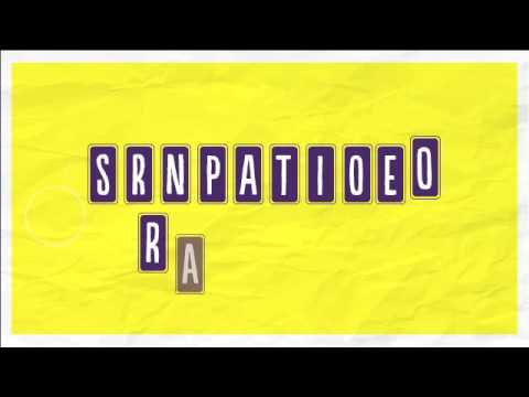 Can you unscramble the letters?