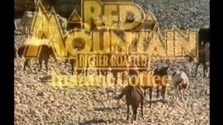 Brooke Bond Red Mountain Instant Coffee TV Commercial 1982
