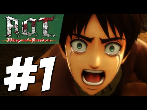 Kiss From a Rose!!   Attack on Titan: Wings of Freedom (PART #1)