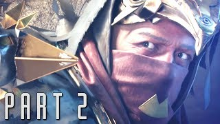 DESTINY 2 CURSE OF OSIRIS Walkthrough Gameplay Part 2 - Vance - Campaign Mission 2 (DLC)