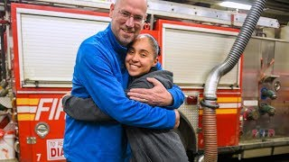 Woman Finally Thanks Firefighter Who Saved Her Life 16 Years Ago