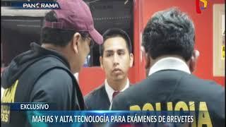 EXCLUSIVO | Mafia usa alta tecnología para exámenes de brevete