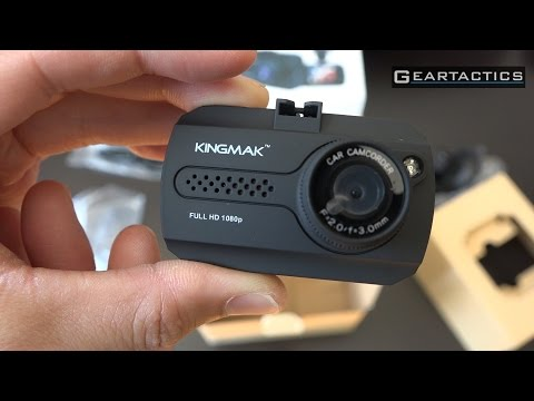 $32 Kingmak / TOGUARD Mini Full HD 1080p Car Dash Camera Review - GearTactics