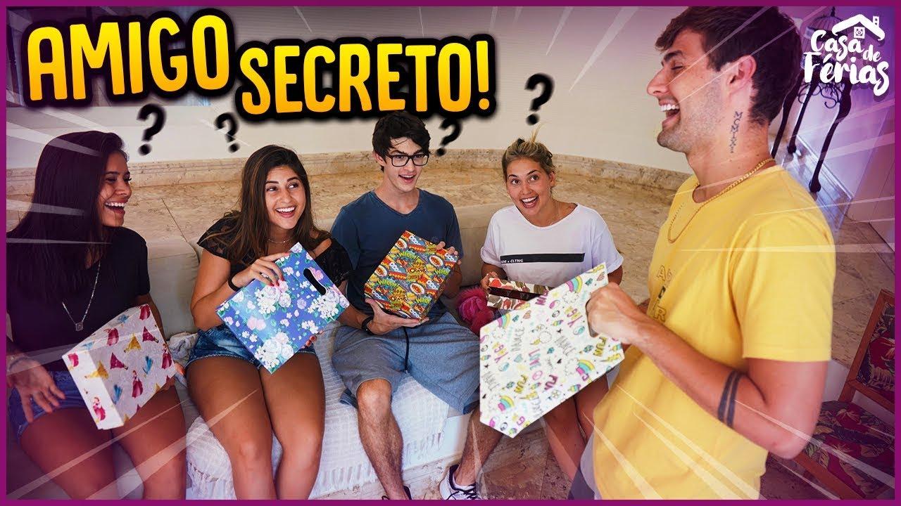 AMIGO SECRETO NA CASA DE FERIAS!! - CASA DE FÉRIAS #42 [ REZENDE EVIL ]