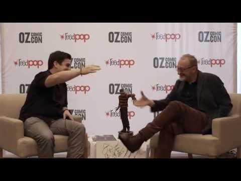 Robert Englund Interview Oz Comic-Con 2015