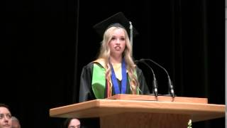 Anna Allen Graduation Speech 2015