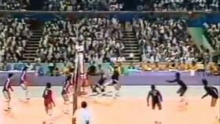 China vs USA Final Los Angeles 1984 volleyball