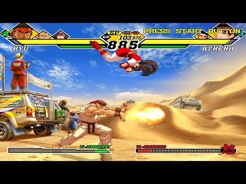 [Dreamcast] Capcom Vs. SNK 2 - Millionaire Fighting 2001 Gameplay