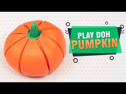 DIY Ideas Play Doh Vegetables For Kids   How To Make Pumpkin With Play Doh   Easy DIY Crafts