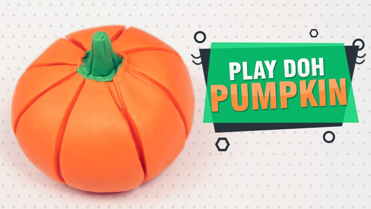Diy Ideas Play Doh Vegetables For Kids How To Make Pumpkin With