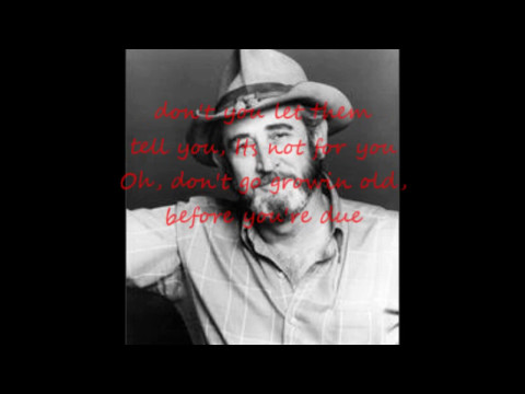 Stay Young Don Williams with Lyrics.