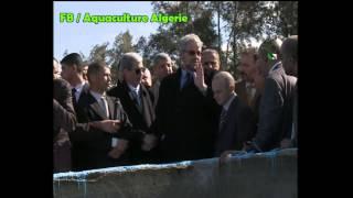 زيارة وزير الصيد البحري الجزائري الى ولاية عين الدفلة