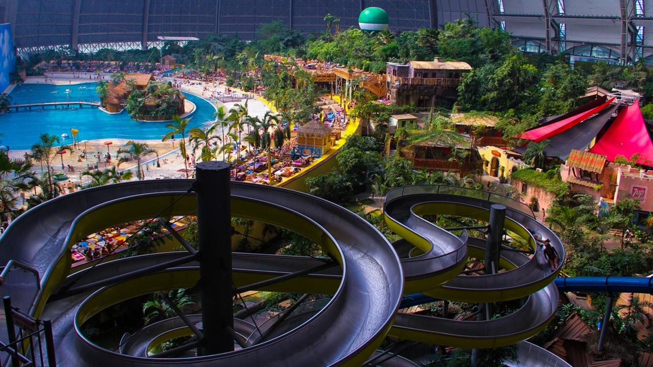 аквапарк на Земле