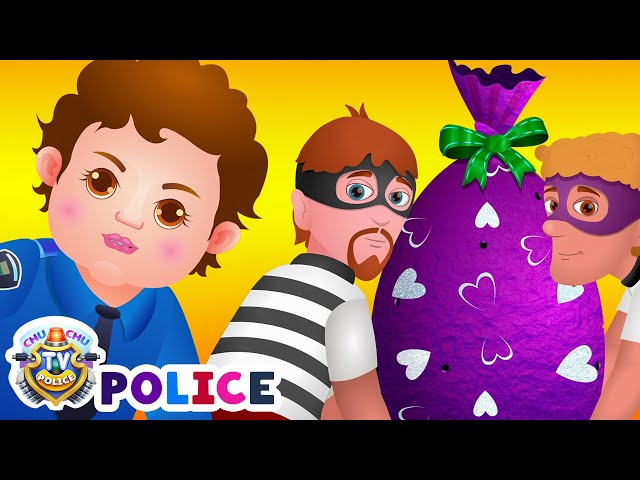 Chuchu Tv Police Chase Catch Thief In Police Car Save