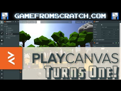 PlayCanvas Turns 1.0!  Open Source 3D HTML5 Game Engine Is All Grown Up