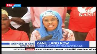 Land Row : KANU want grabbed land returned to party