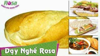 Hướng dẫn làm Bánh Mì Việt Nam cho người nước ngoài