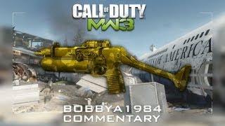 Hitting The Gym & P90X - TDM on Blackbox with PP90M1 - bobbya1984 MW3 Commentary