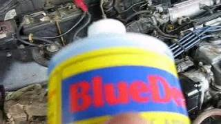 Blue Devil did not work first attempt at head gasket seal