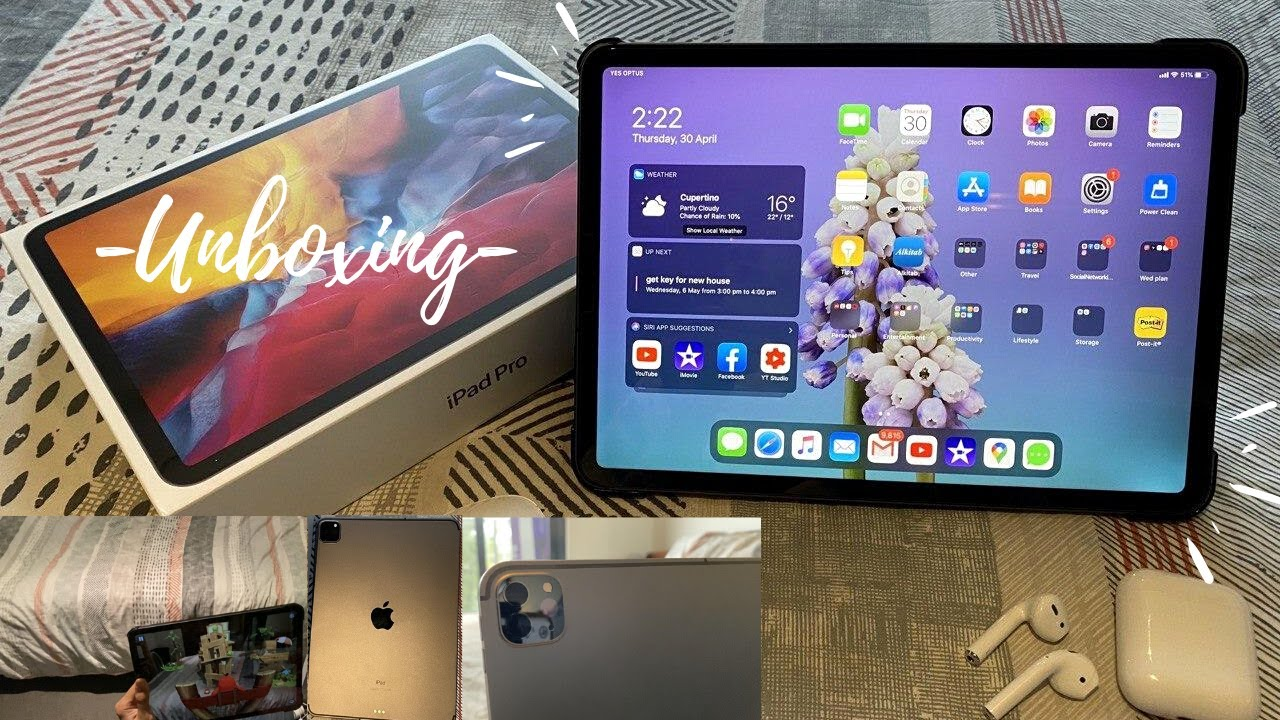 Unboxing the New iPad Pro 2020/ 11 Inch/ WiFi & Cellular ...