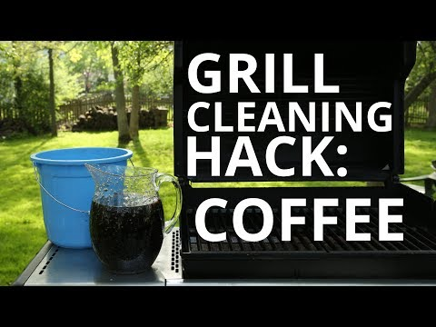Sears Home Hacks Tested: Cleaning Grill Grates With Coffee?