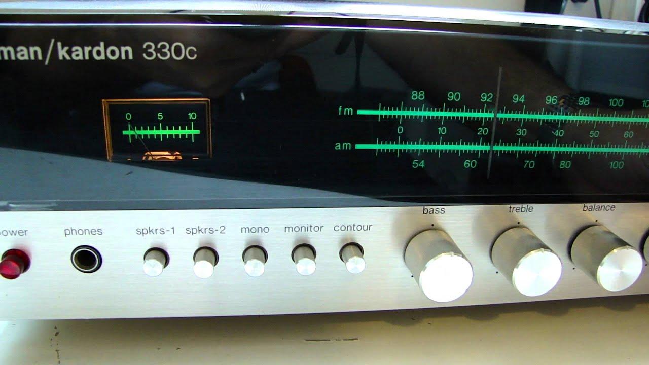 harman kardon 330c receiver test