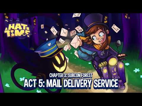 A Hat in Time [Part 12] Mail Delivery Service; Boss Battles 3 & 4: Toilet of Doom & Snatcher