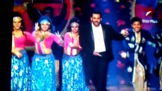 BIG STAR intertainment award 31 dec 2015 salman khan performance