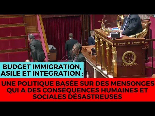 Budget 2019 Immigration Asile Intégration : une politique désastreuse basée sur des mensonges