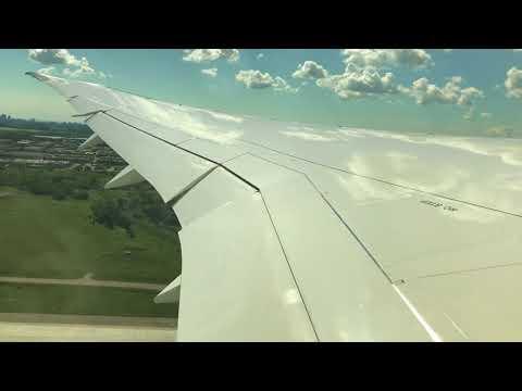 Air Canada 787-9 Dreamliner Take Off Toronto Pearson